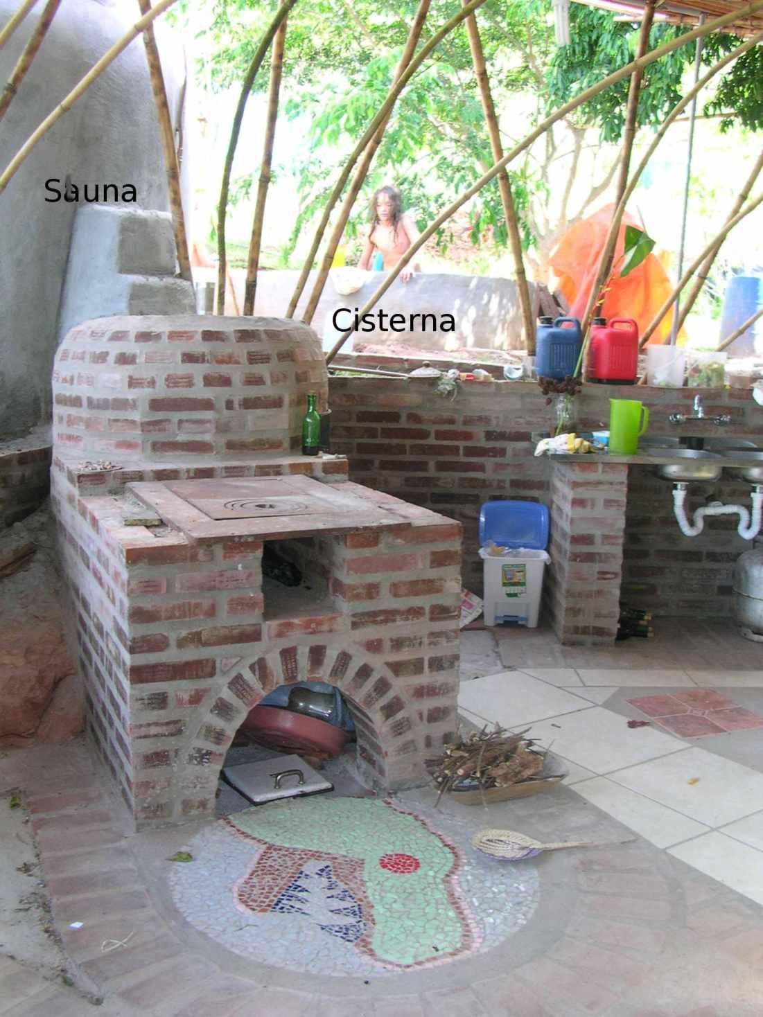 Forno, sauna,cisterna
