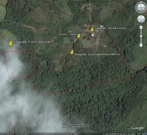Karaguatá no Google Earth